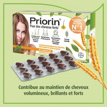 Priorin Cheveux forts et en bonne santé avec biotine 60 pièces