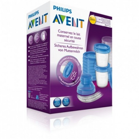 Philips Avent VIA Natural Moedermelkbewaarset