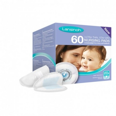 Lansinoh Coussinets d'allaitement jetables 60 pièces