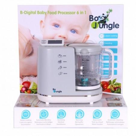 Bojungle  Mixeur cuiseur digital  multifonctions 6 en 1
