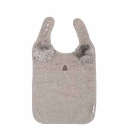 Bojungle  Bavoir eco eponge koala gris