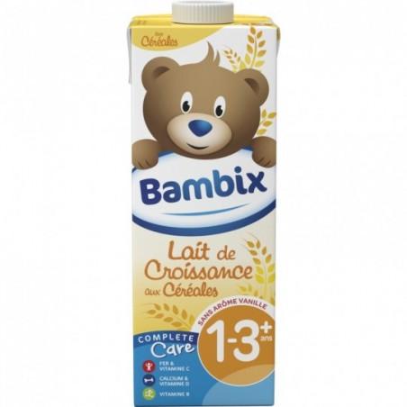 Bambix Lait de croissance aux céréales 1-3 ans