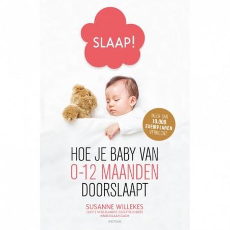 Mamabaas Livre en néerlandais - Slaap! Hoe je baby van 0-12 mnd doorslaapt