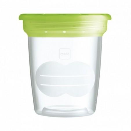 MAM Pots de conservation lait maternel 5x120ml