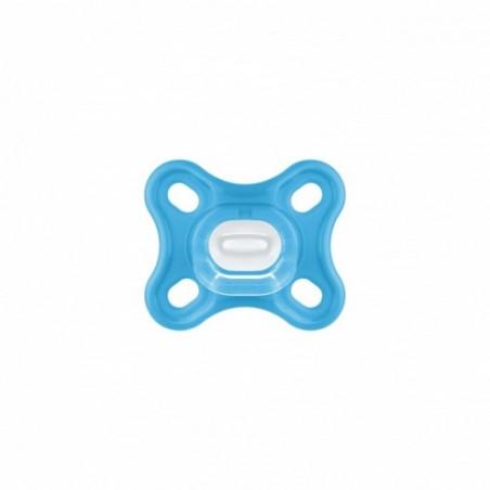 MAM Sucette Comfort Silicone 0+ bleu