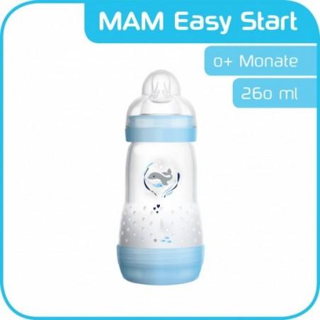 MAM Biberon easy start anti-colic bleu