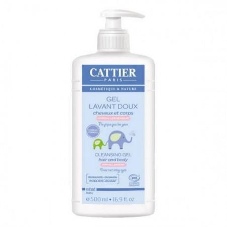 Cattier Baby reinigings gel zeepvrij Bio