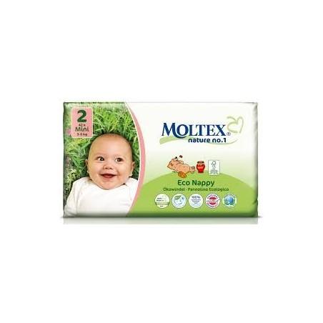 Moltex Couches bébé 2 mini 3-6kg 42 pièces