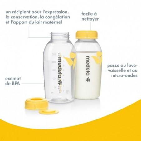 Medela Biberons pour lait maternel 2 pièces