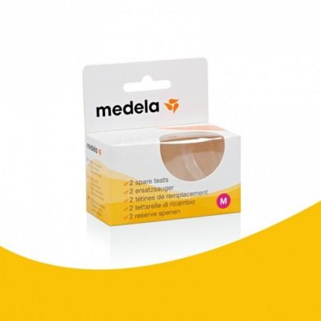 Medela Tétines débit moyen 2 pièces