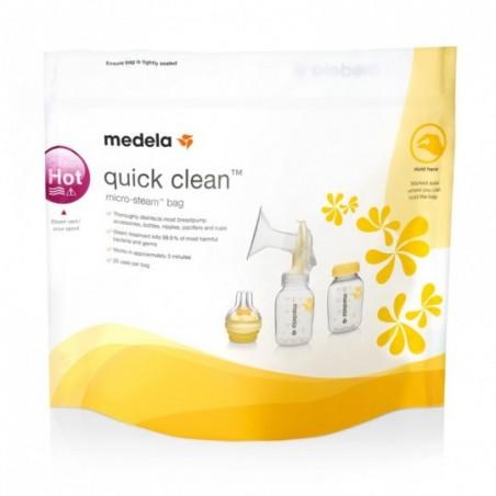 Medela Quick Clean Sachets pour micro-ondes 5 pièces