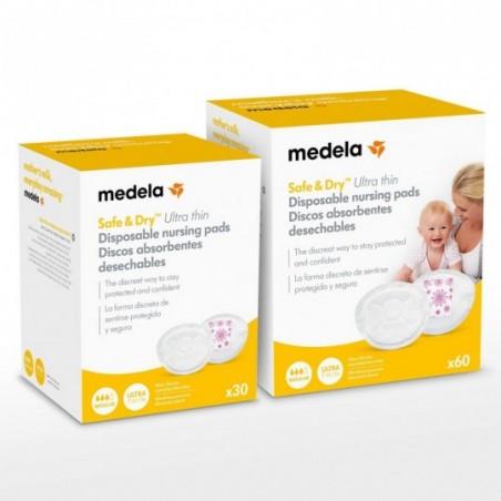 Medela Coussinets d'allaitement jetables - Ultra Thin 30 pièces