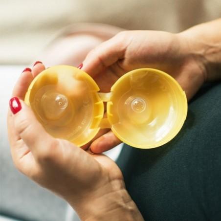 Medela Bouts de sein contact - taille M  - boîte de rangement incl.