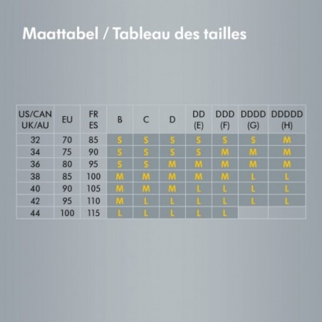 Medela Le bustier d´allaitement Easy Expression taille L