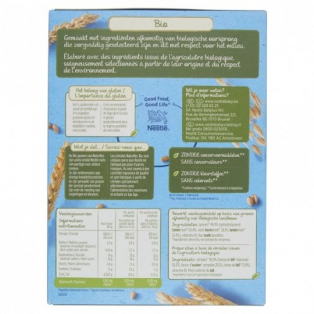 Naturnes Cereals Blé et Avoine Bio
