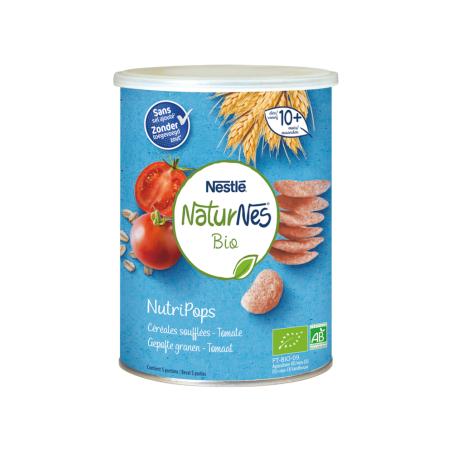 Naturnes NutriPops Céréales Soufflées Tomate 5 pièces Bio