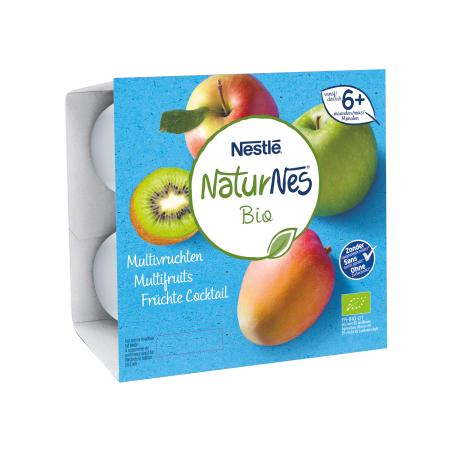 Naturnes Multifruits 4 pièces Bio