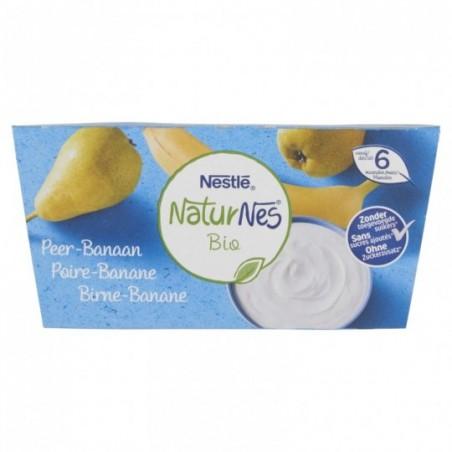 Naturnes Poire Banane 4 pièces Bio