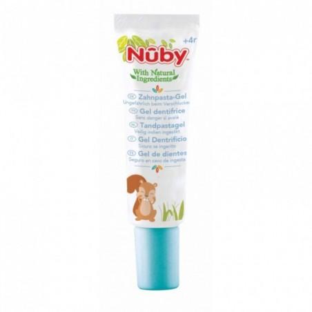 Nuby Gel nettoyant gencives et dent + doigt massant