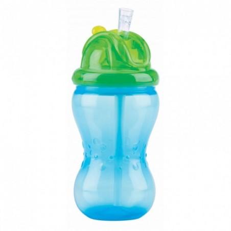 Nuby Gobelet anti-goutte Flip-It™ - bleu