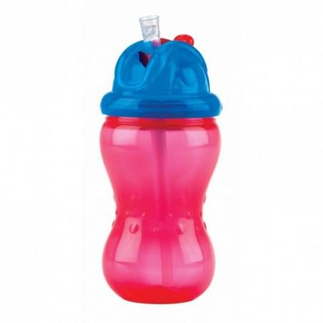 Nuby Flip-It™ antilekbeker -rood