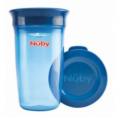 Nuby 360° Wonder cup - blauw