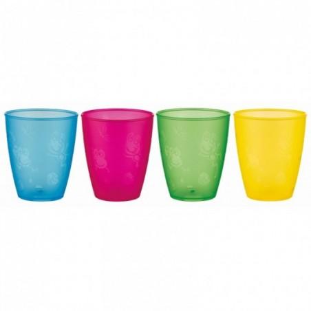 Nuby Open drinkbeker set 4 stuks