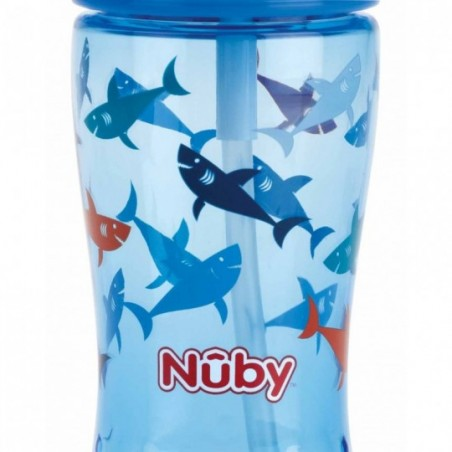 Nuby Gobelet en Tritan™ Flip-It - bleu