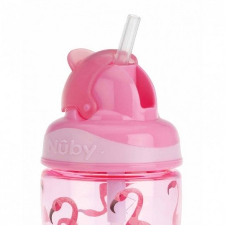 Nuby Gobelet Flip-It en Tritan™ - rose