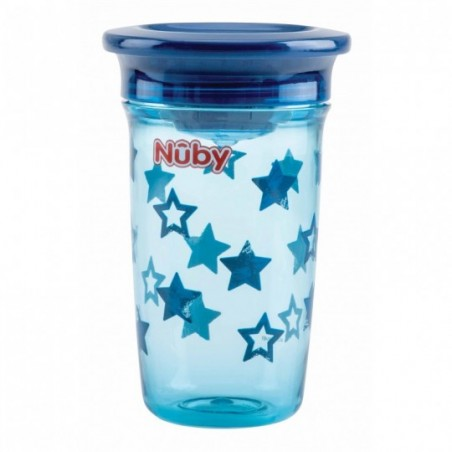 Nuby Gobelet magique 360° en Tritan™ - bleu