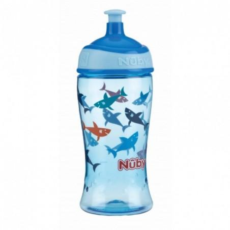 Nuby Gobelet sportif Pop-up en Tritan™ - bleu
