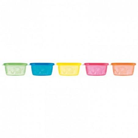 Nuby Pots pour encas 6 pièces