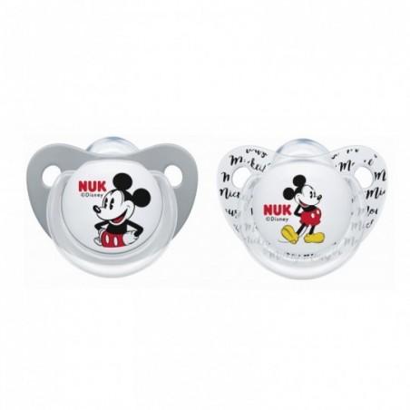 NUK  Fopspenen Mickey 2 stuks