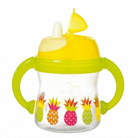 Tigex Antilek cup met soepel monstuk en handvatten