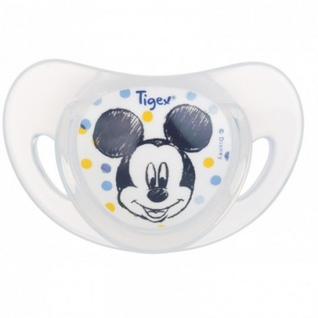 Tigex sucettes physiologiques silicone Mickey 2 pièces