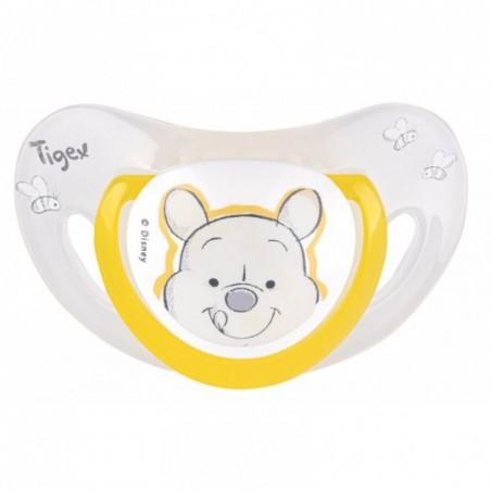 Tigex Fysiologische fopspenen silicon Winnie 2 stuks