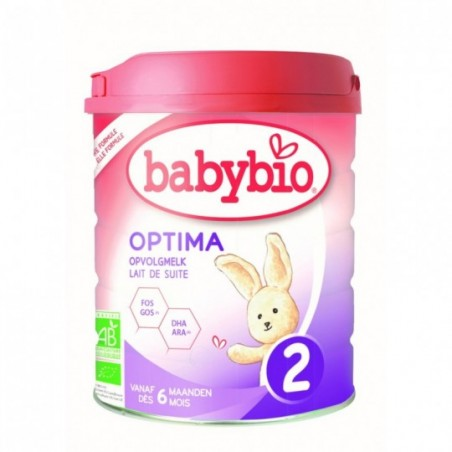 Babybio OPTIMA 2 Lait de Suite (dès 6 mois) Bio