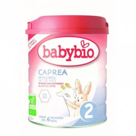 Babybio CAPREA 2 Lait de chèvre (dès 6 mois) Bio