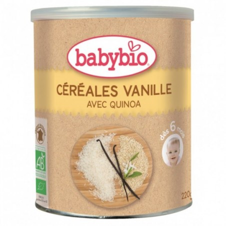 Babybio Céréales Vanille (dès 6 mois) Bio