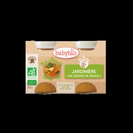 Babybio Jardinière de légumes (dès 4 mois) 2 pièces Bio