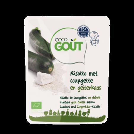 Good Gout Risotto van courgette en geitenkaas Bio