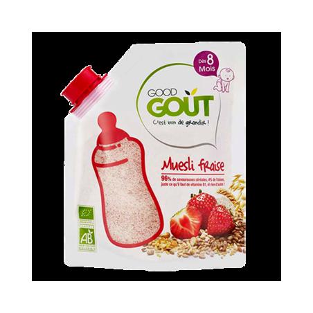 Good Gout Muesli aardbei Bio