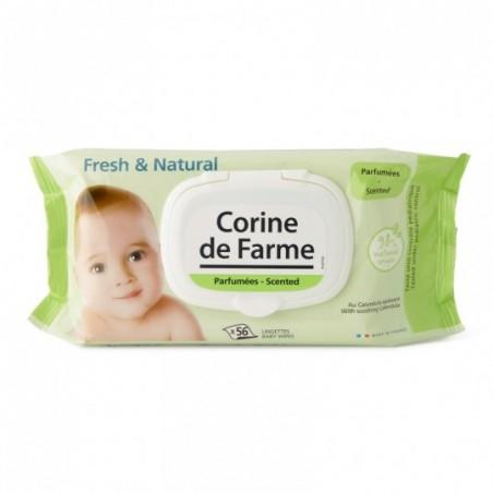 Corine de Farme Lingettes change Fresh 56 pièces
