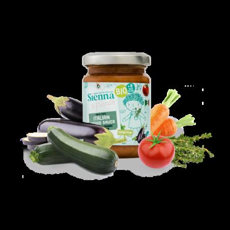 Sienna & Friends Sauce Italienne aux Légumes  Bio