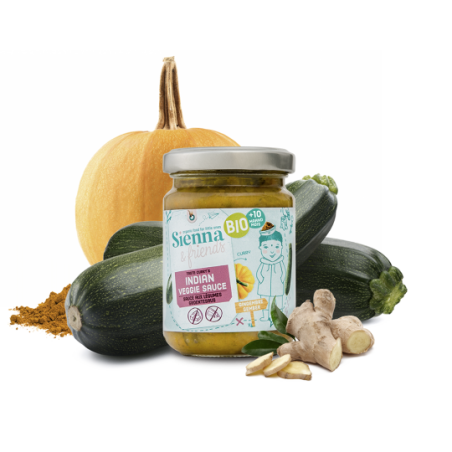Sienna & Friends Indische Veggiesaus  Bio