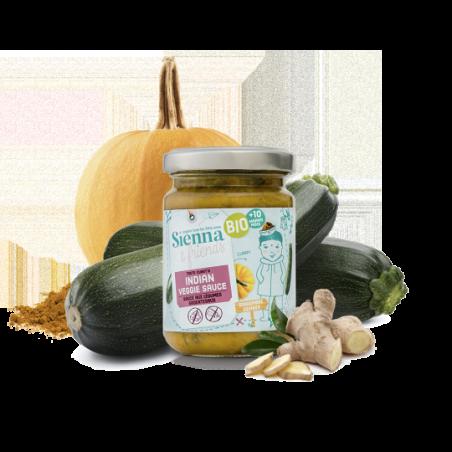 Sienna & Friends Sauce Indienne aux Légumes  Bio