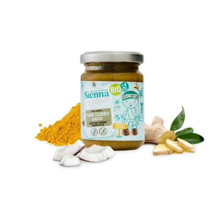 Sienna & Friends Sauce Curry Thai aux Légumes  Bio