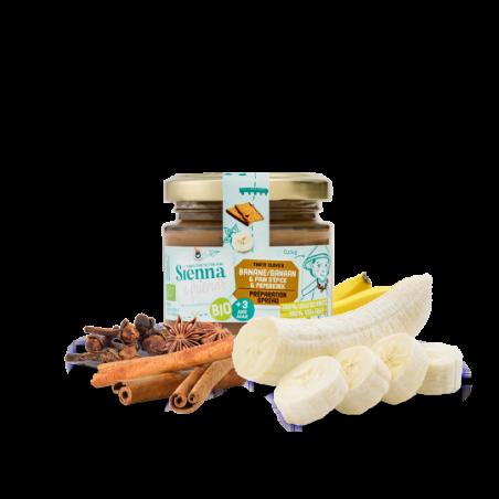 Sienna & Friends Spread van Banaan & Peperkoekkruiden  Bio