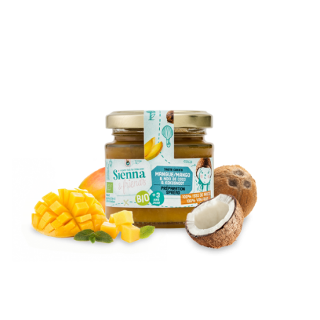 Sienna & Friends Spread van Mango & Kokosnoot  Bio