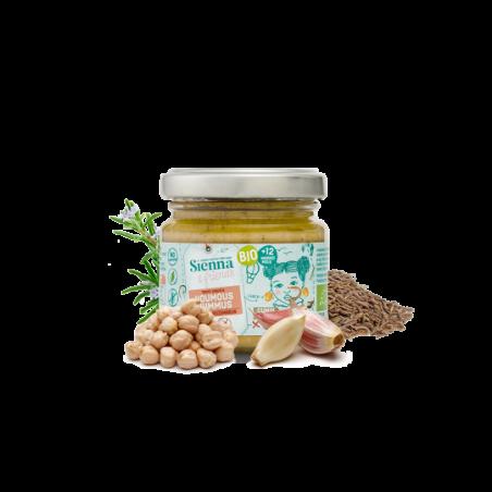 Sienna & Friends Hummus van Rozemarijn & Komijn Bio